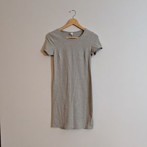 Fitted t-shirt dress